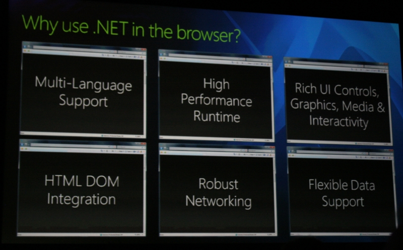Mix 07, Silverlight, Dynamic Languages Runtime and
