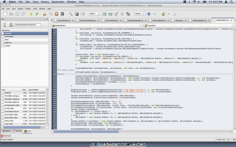 Mono on OSX, Win32 - Miguel de Icaza