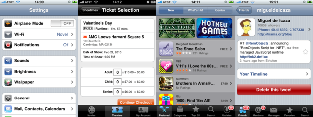 Simplified User Interfaces on the iPhone with MonoTouch