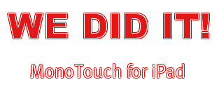 We did it!   MonoTouch for iPad!
